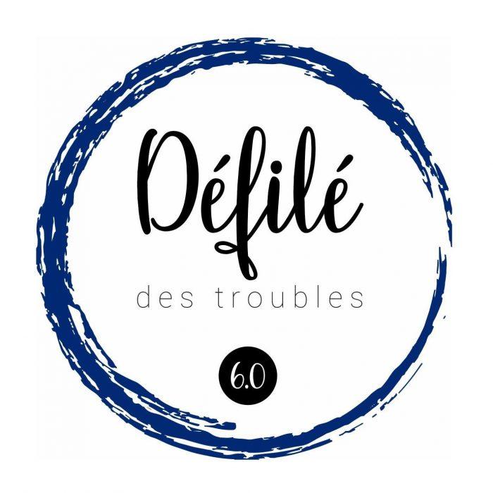 Logo <br>Association des étudiantes et étudiants de premier cycle en psychologie de l'Université Laval (AEEPCPUL), par le Défilé des troubles 6.0